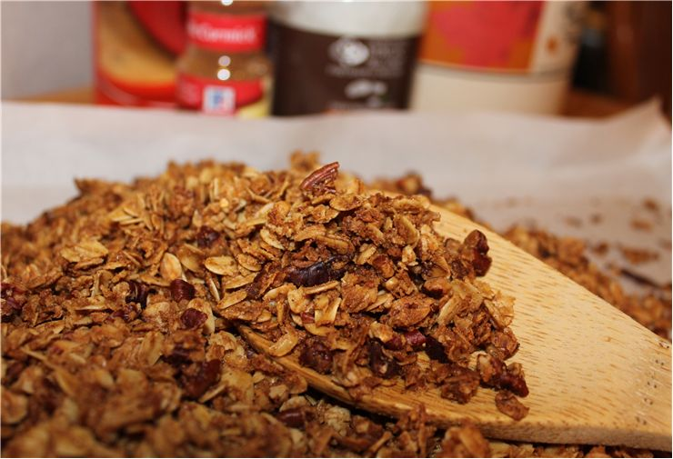 Picture Of Cereal Oats With Cinnamon And Brown Sugar