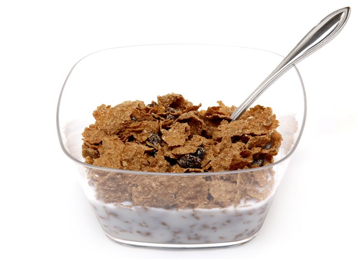 Picture Of Cereals With Raisins
