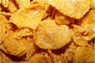 Picture Of Cornflakes For Breakfast