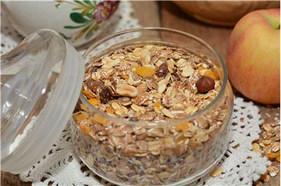 Picture Of Muesli Cereal Raisins